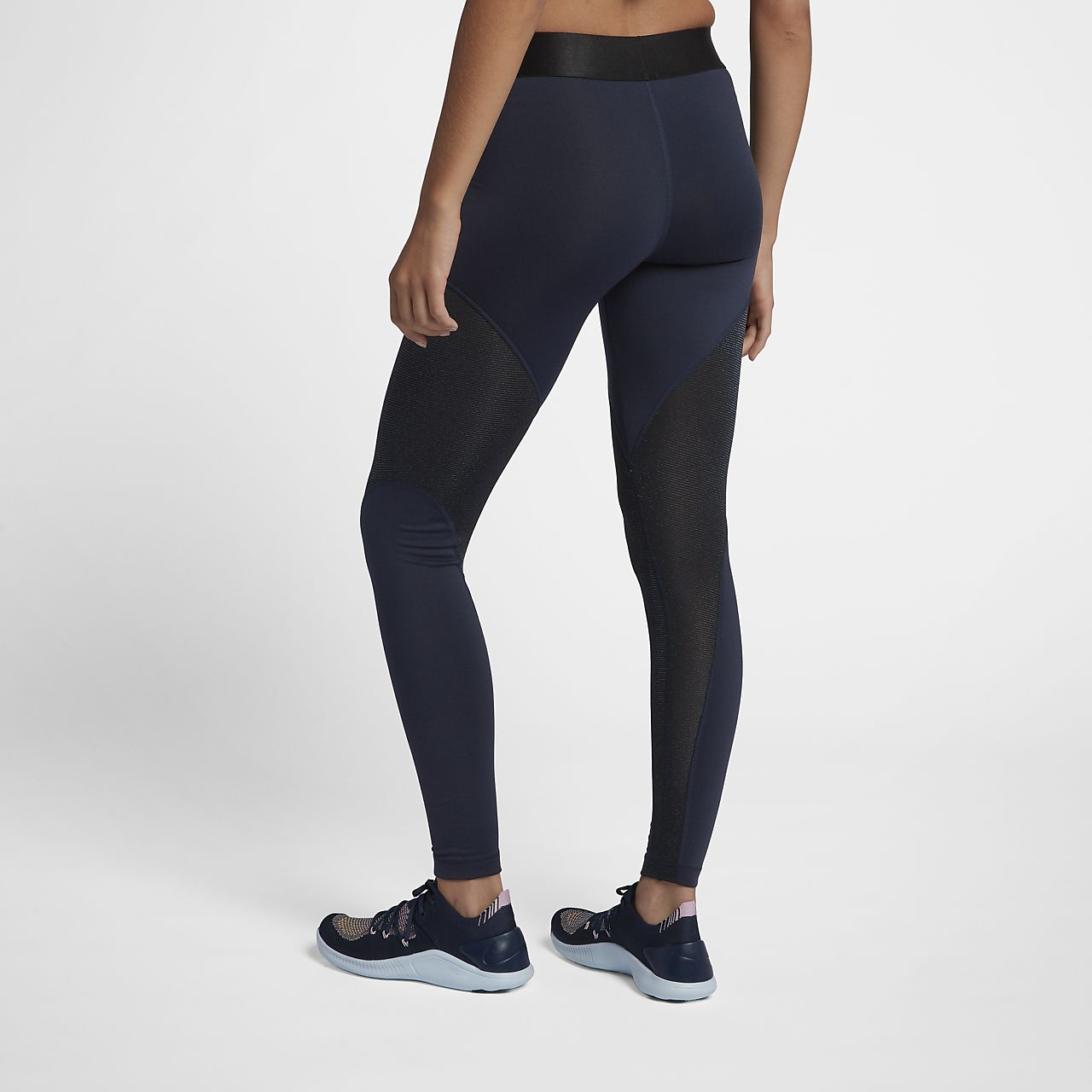 Nike Pro Warm Women s Sparkle 7 8 Tights. Nike.com 67bd3855afe