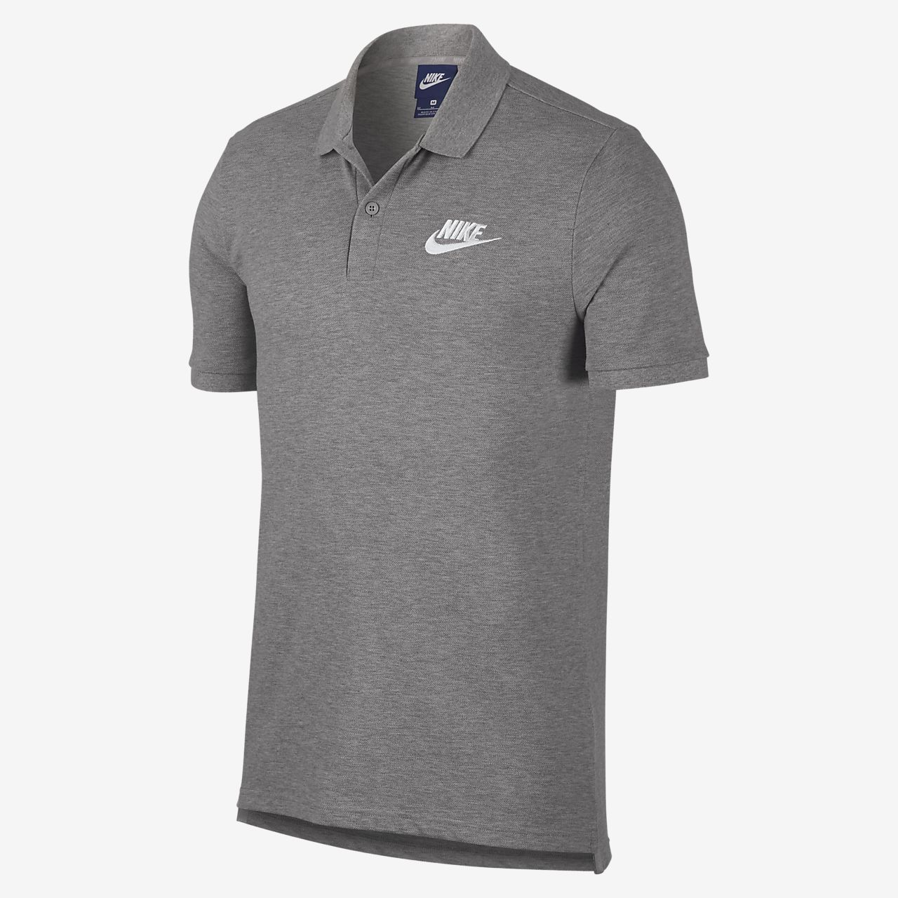 Nike Hurley Dri-FIT Lagos Polo Mens Dark Grey/White/Black