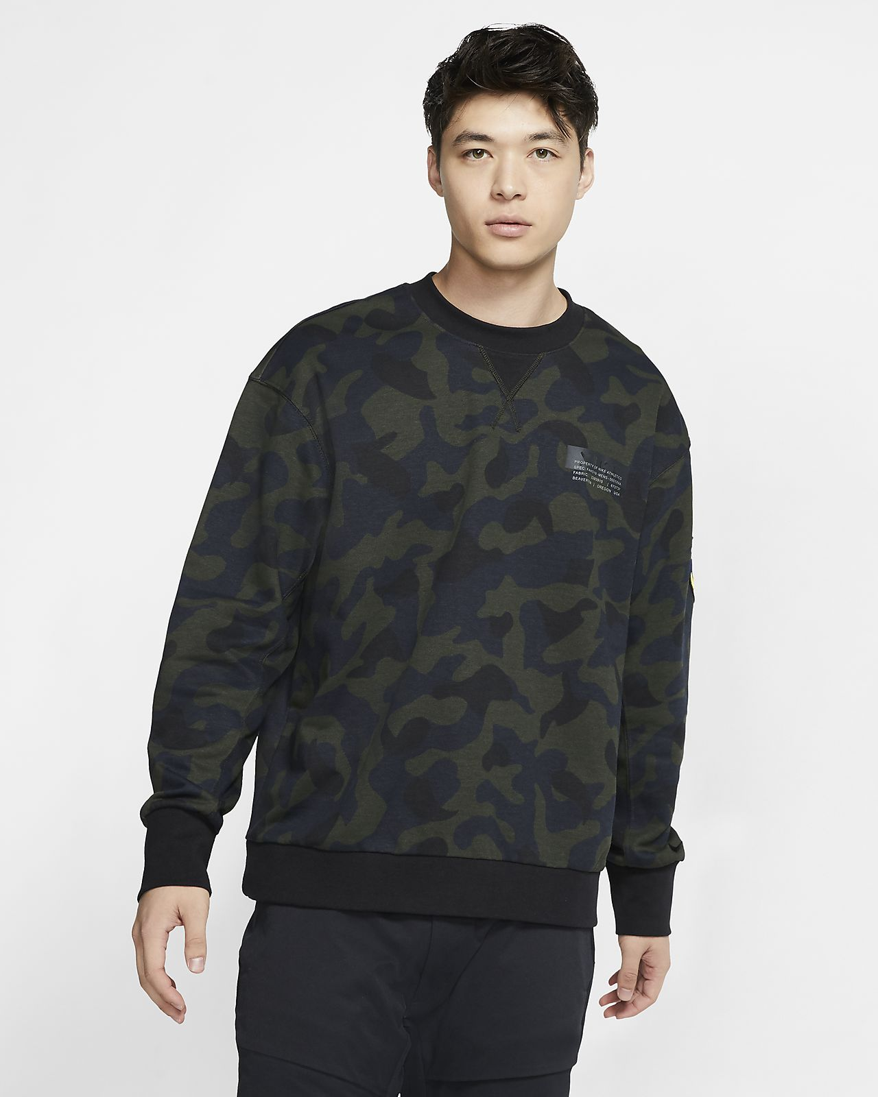 Nike Sportswear 男款法國毛圈布貼身圓領上衣