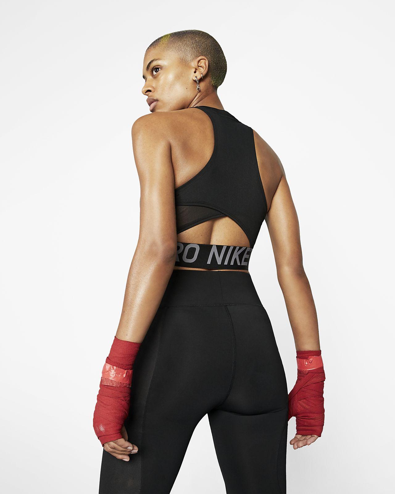 new concept c8f58 8dd35 ... Linne Nike Pro Intertwist för kvinnor