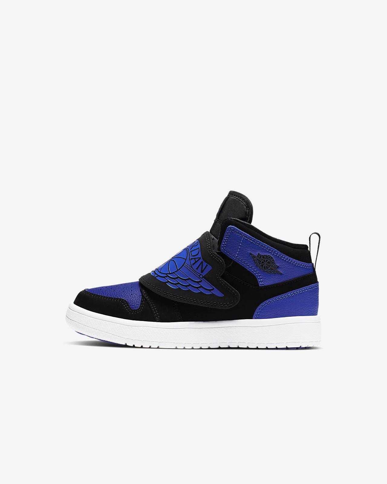 Sky Jordan 1 Schuh für jüngere Kinder