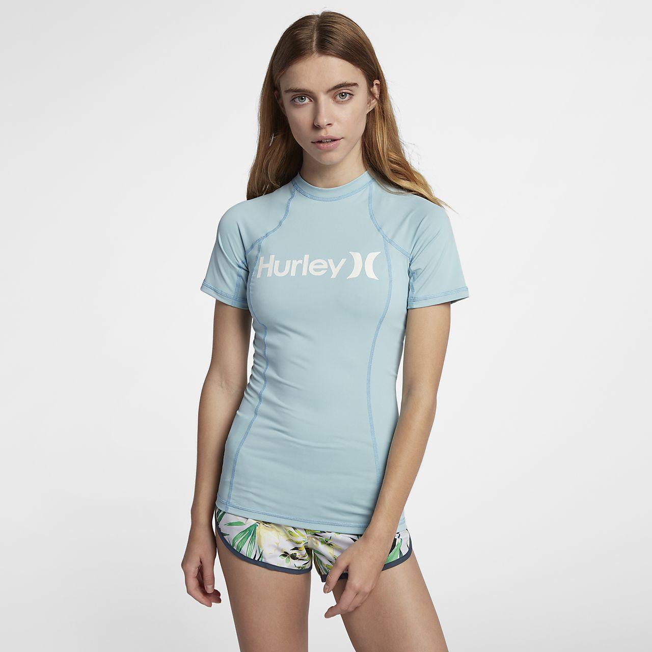 Женская гидрофутболка с коротким рукавом Hurley One And Only