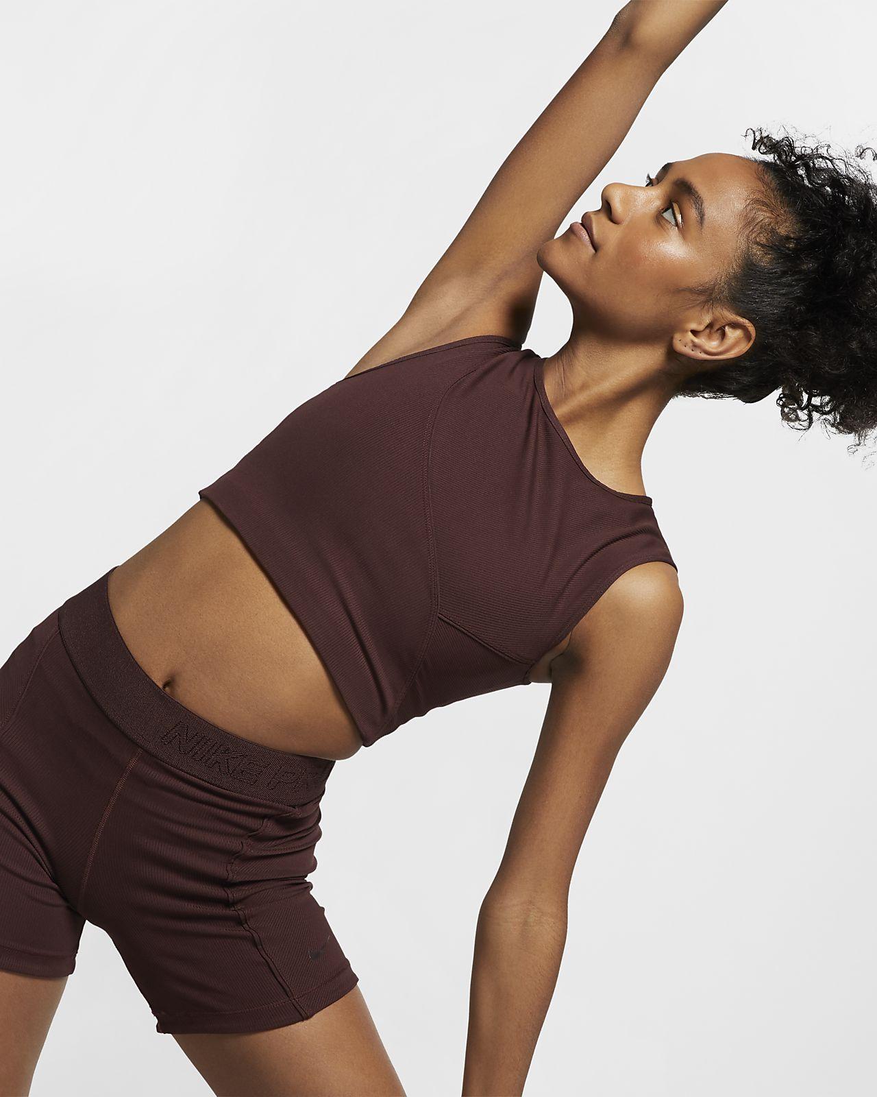 Ribbat linne Nike Pro HyperCool för kvinnor