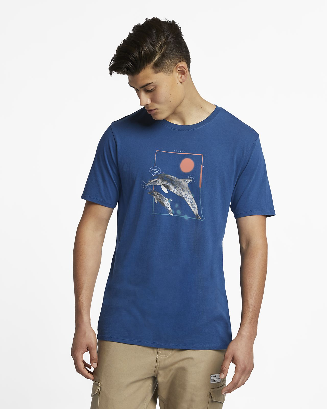 Hurley Dolphin Punks Men's T-Shirt