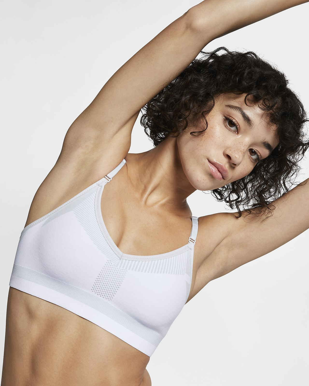 huge discount authentic well known Nike Flyknit Indy Tech Pack Women's Medium-Support Sports Bra