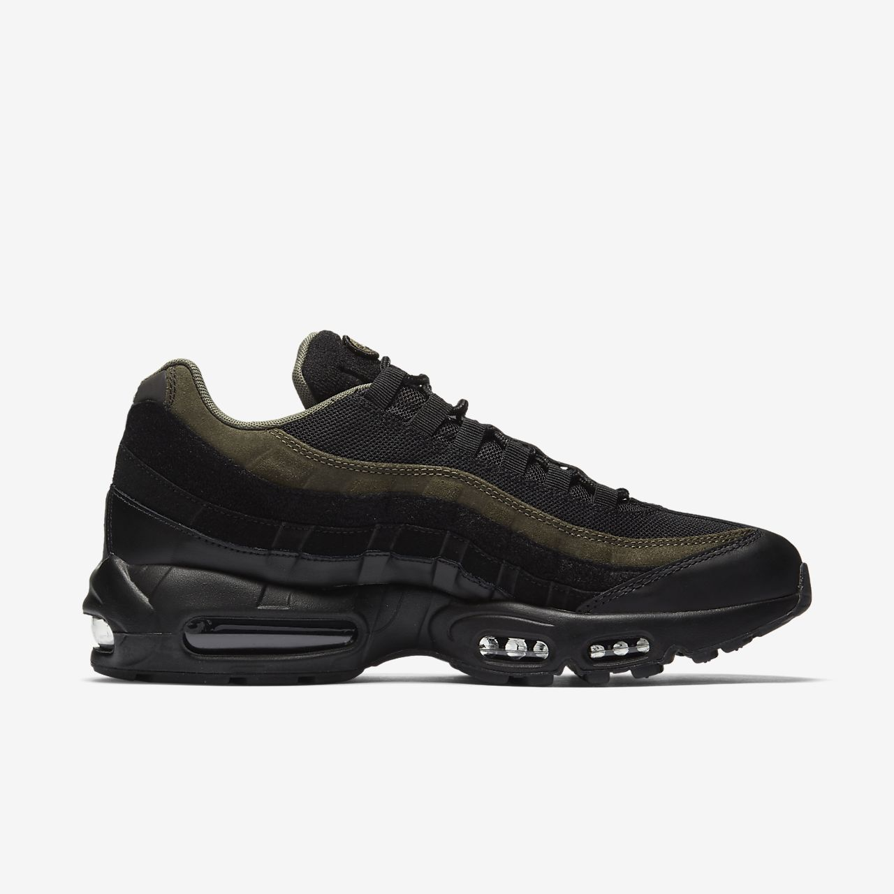 air max 95 black with grey sole