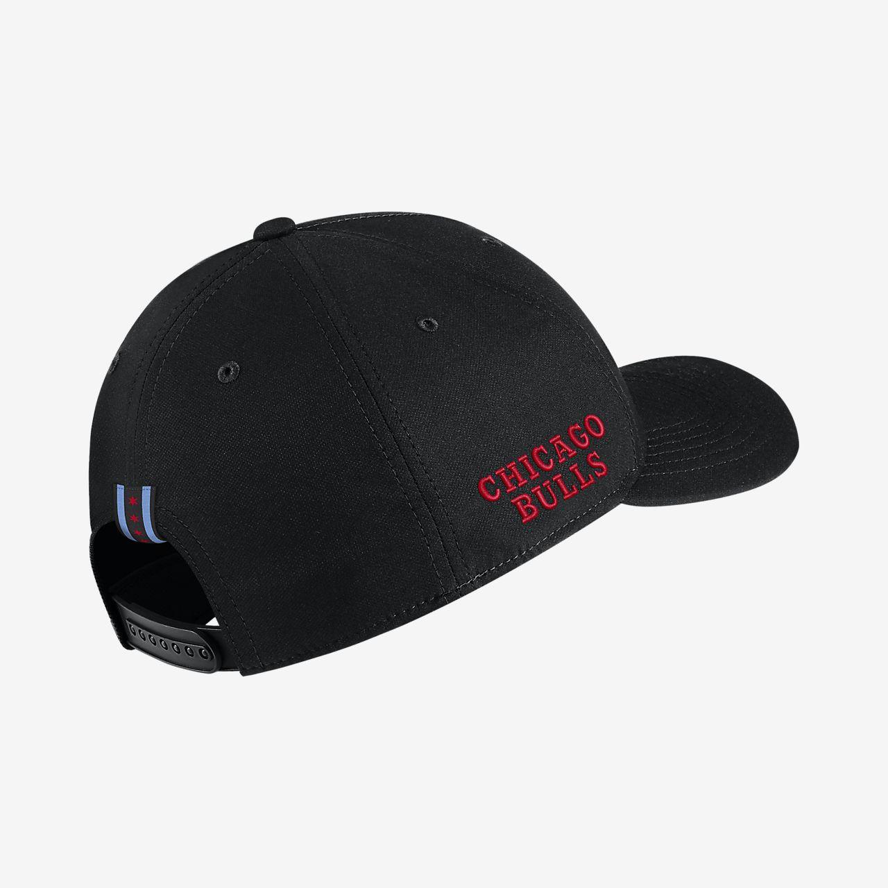 Chicago Bulls City Edition Nike AeroBill Classic99 NBA Hat. Nike.com BG 0d9fbd32815