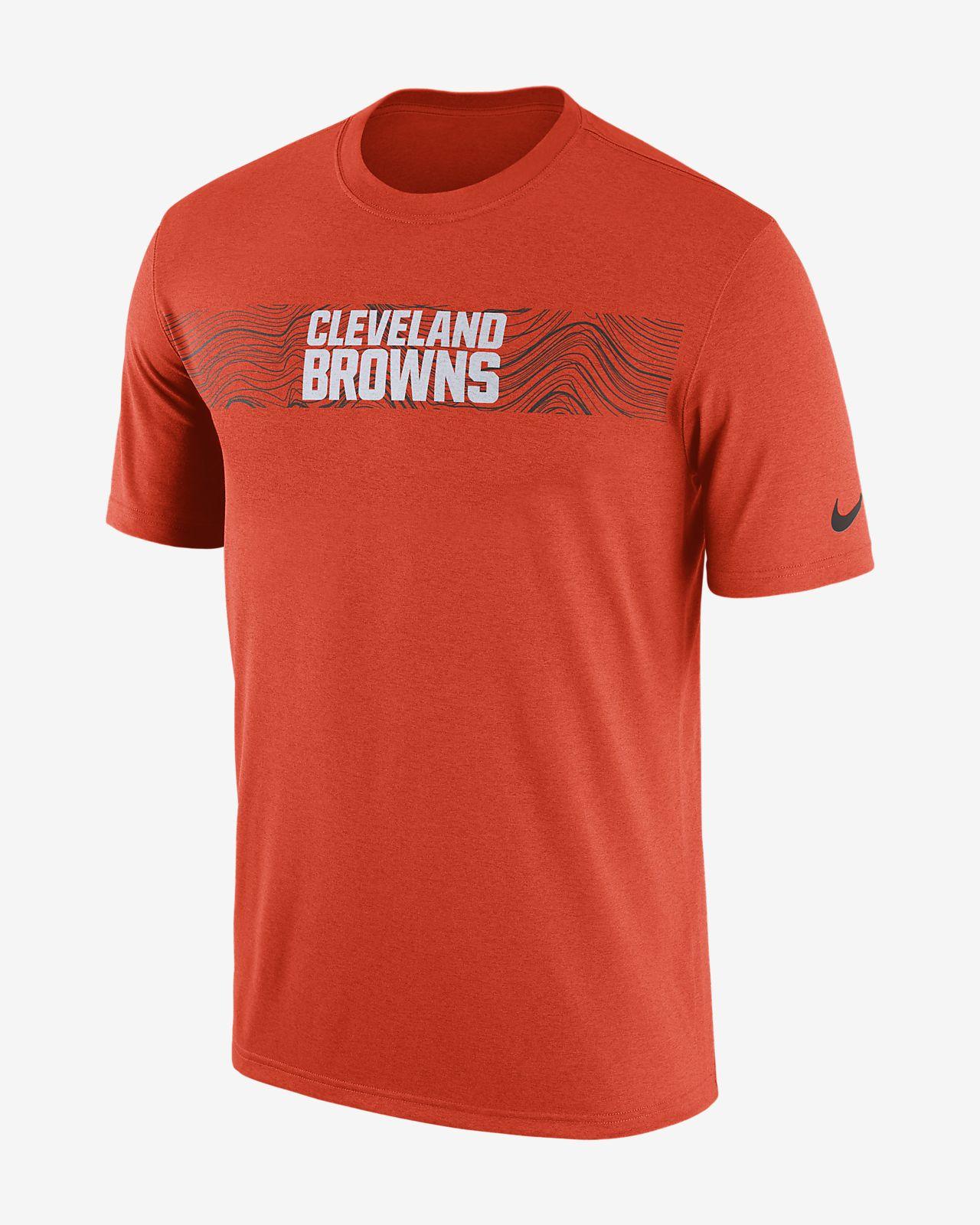 Nike Tee-shirt Dri-FIT Legend Seismic (NFL Browns) pour Homme 100% D'origine Prix Pas Cher 02on9Q9