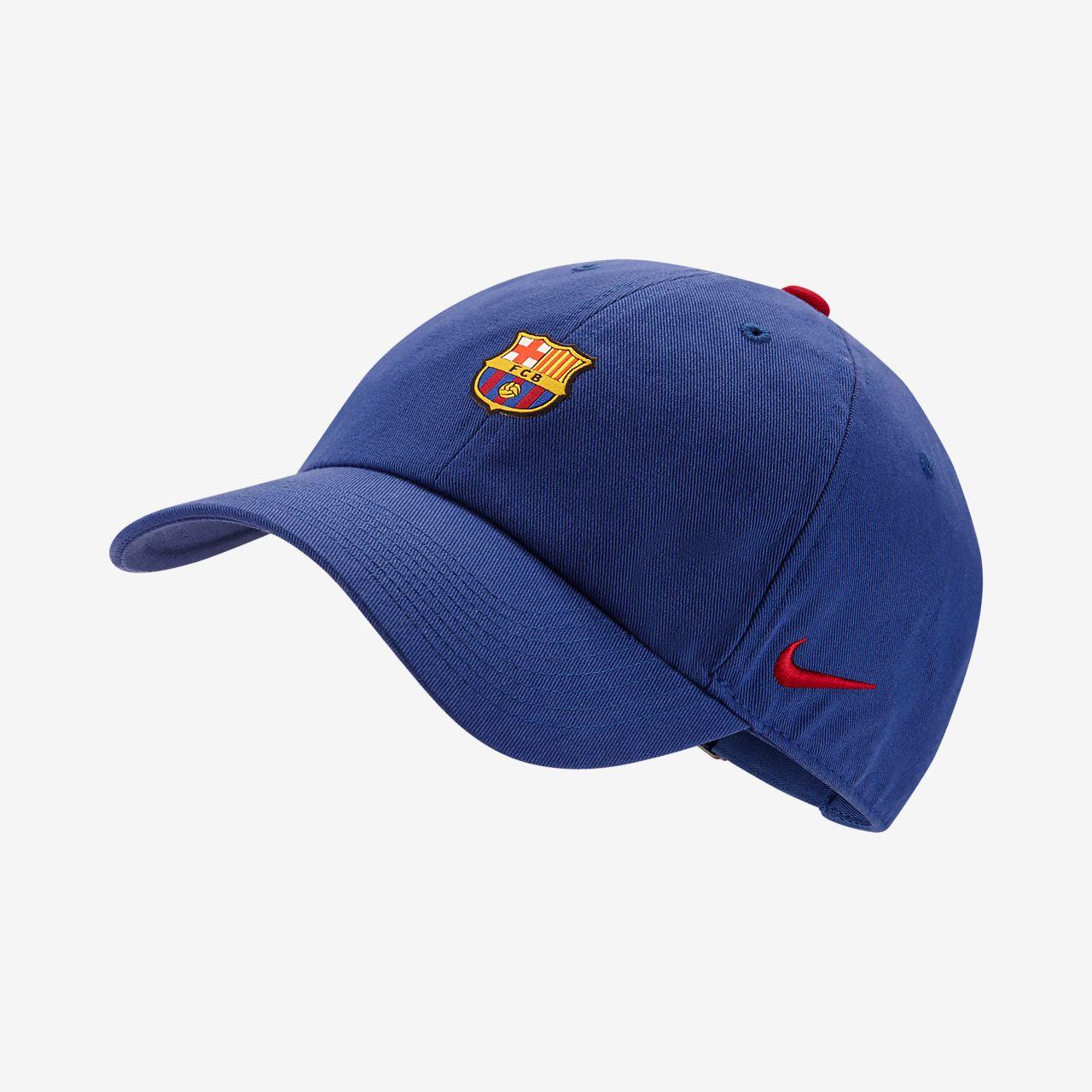 ae22040065e FC Barcelona Heritage 86 Adjustable Hat. Nike.com IE