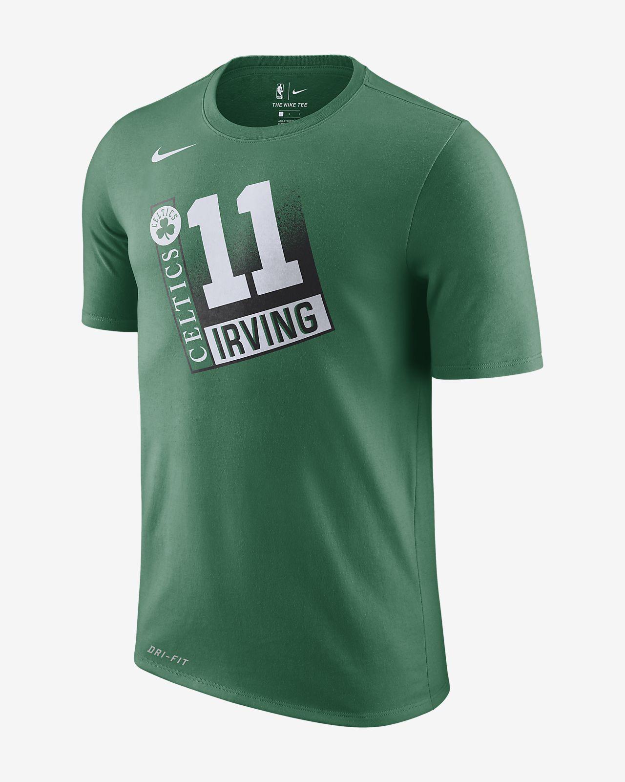 เสื้อยืด NBA ผู้ชาย Kyrie Irving Boston Celtics Nike Dri-FIT