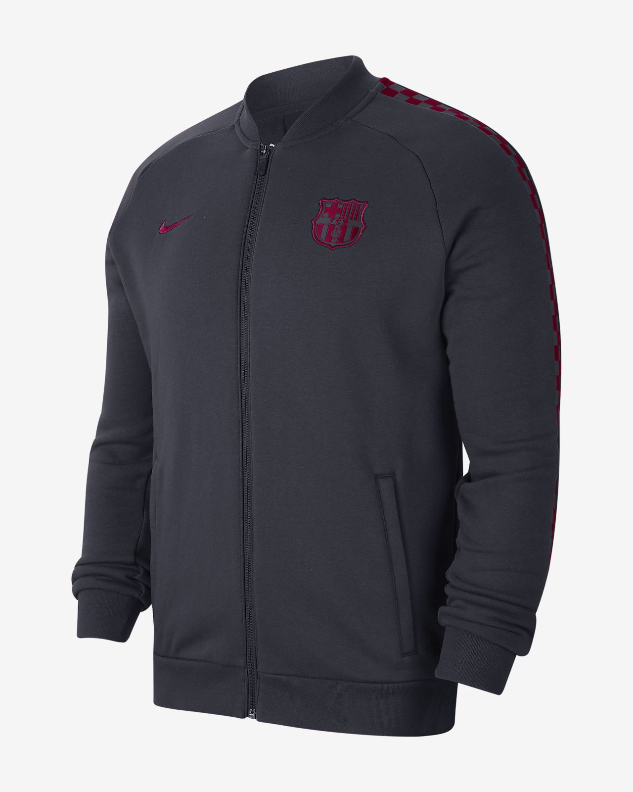 FC Barcelona Men's Fleece Track Jacket