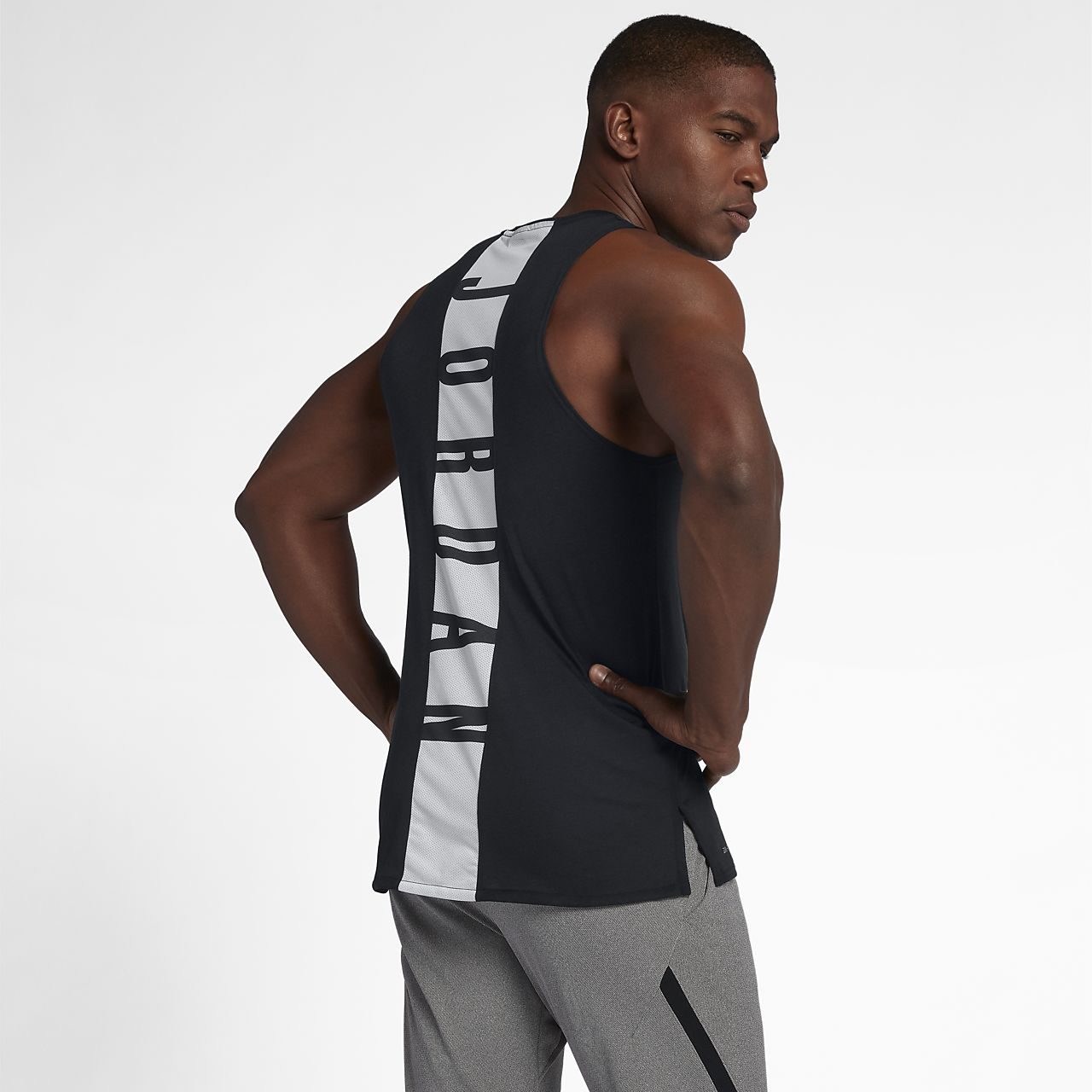 2afbdcc963776 Jordan 23 Alpha Men s Sleeveless Training Top. Nike.com