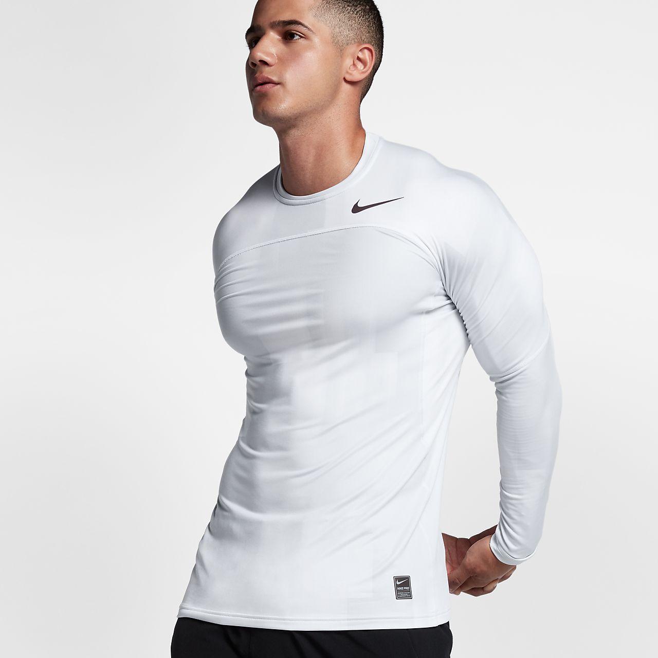 ... Nike Pro HyperWarm Men's Long Sleeve Training Top