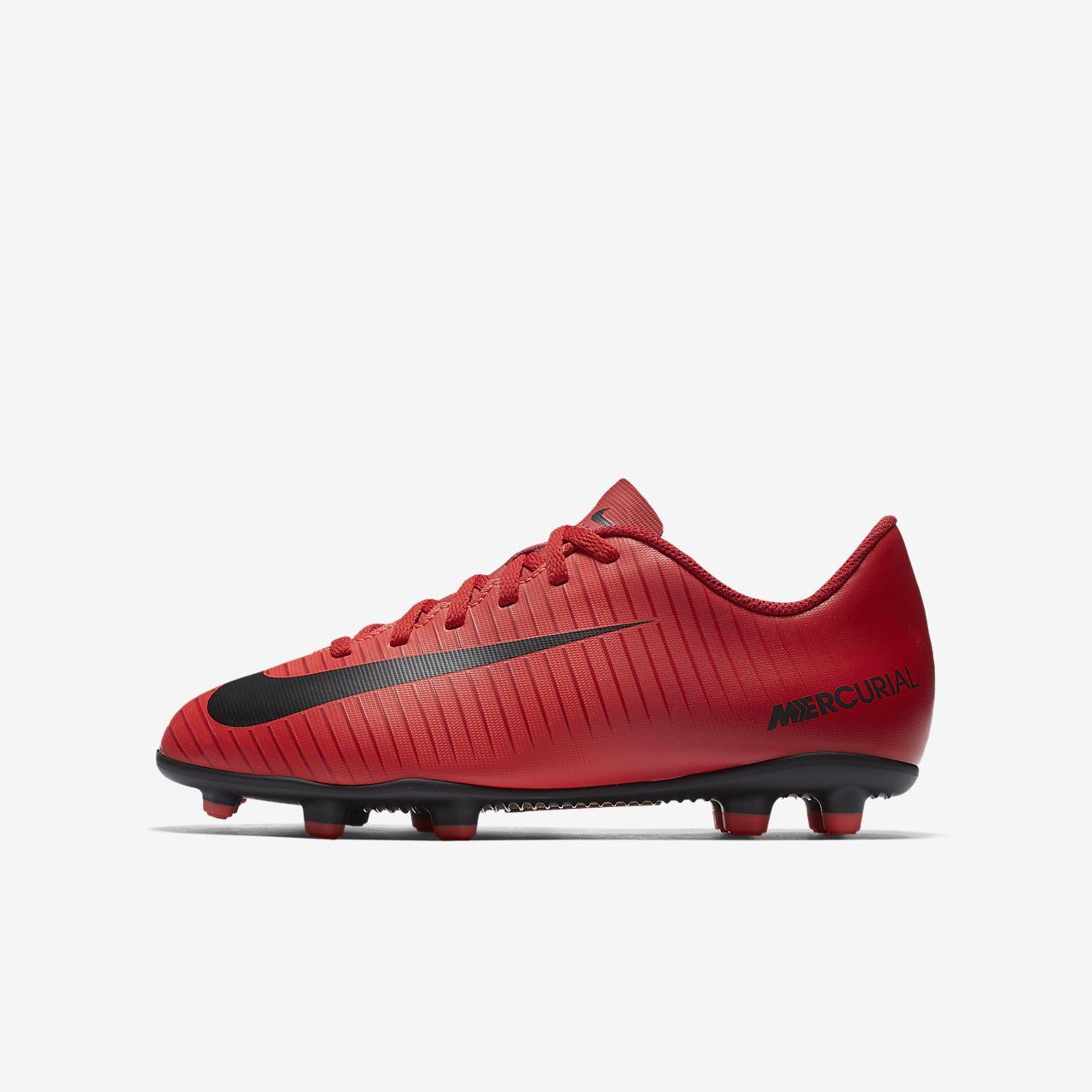 Scarpa da calcio per duri terreni duri per Nike Jr. Mercurial Vortex III Bambini Ragazzi 3ceaa3