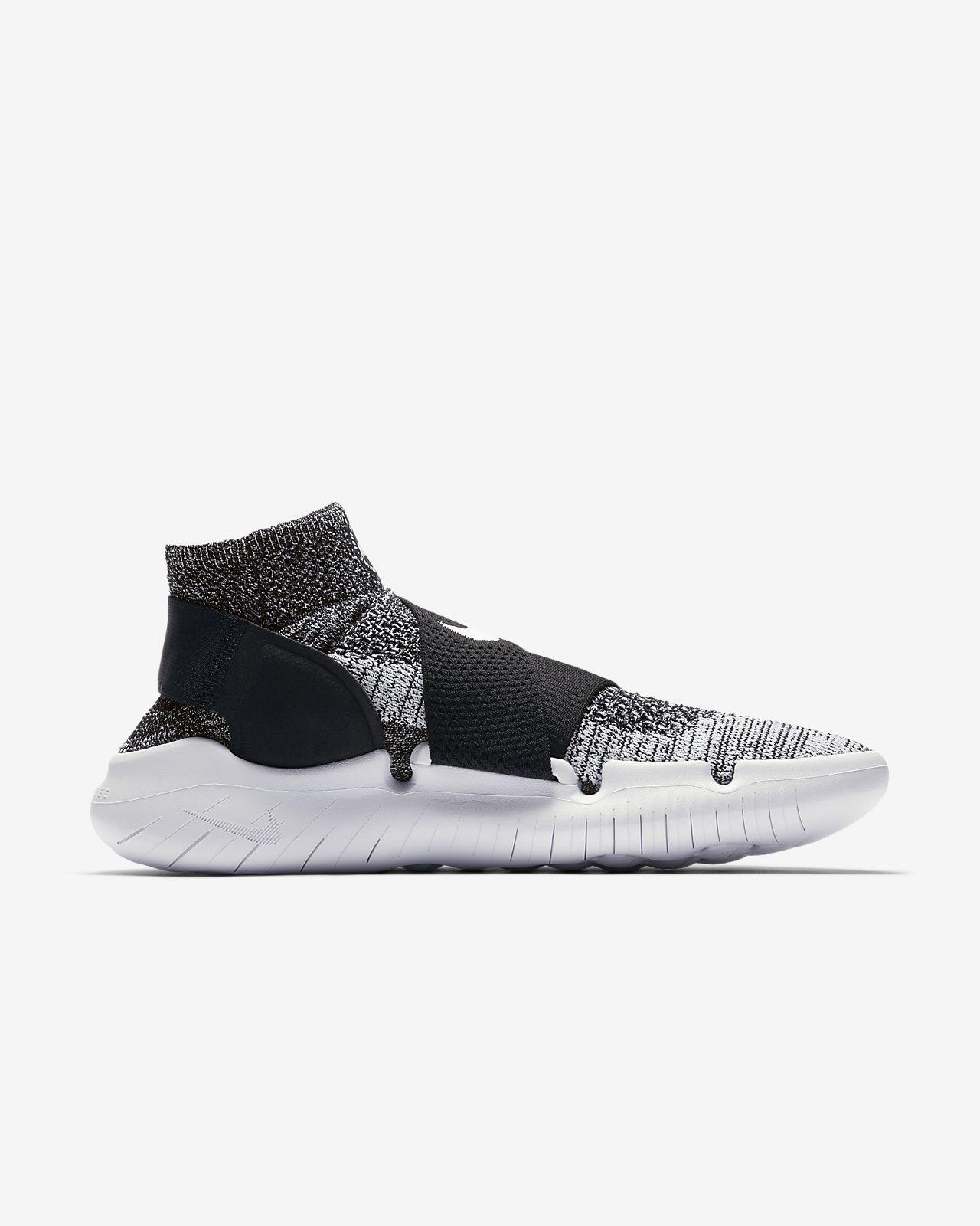 Nike Free Run Course Mouvement Flyknit 2018 Formateurs En Noir 942840-001 - Noir ZTzpF0FiFY