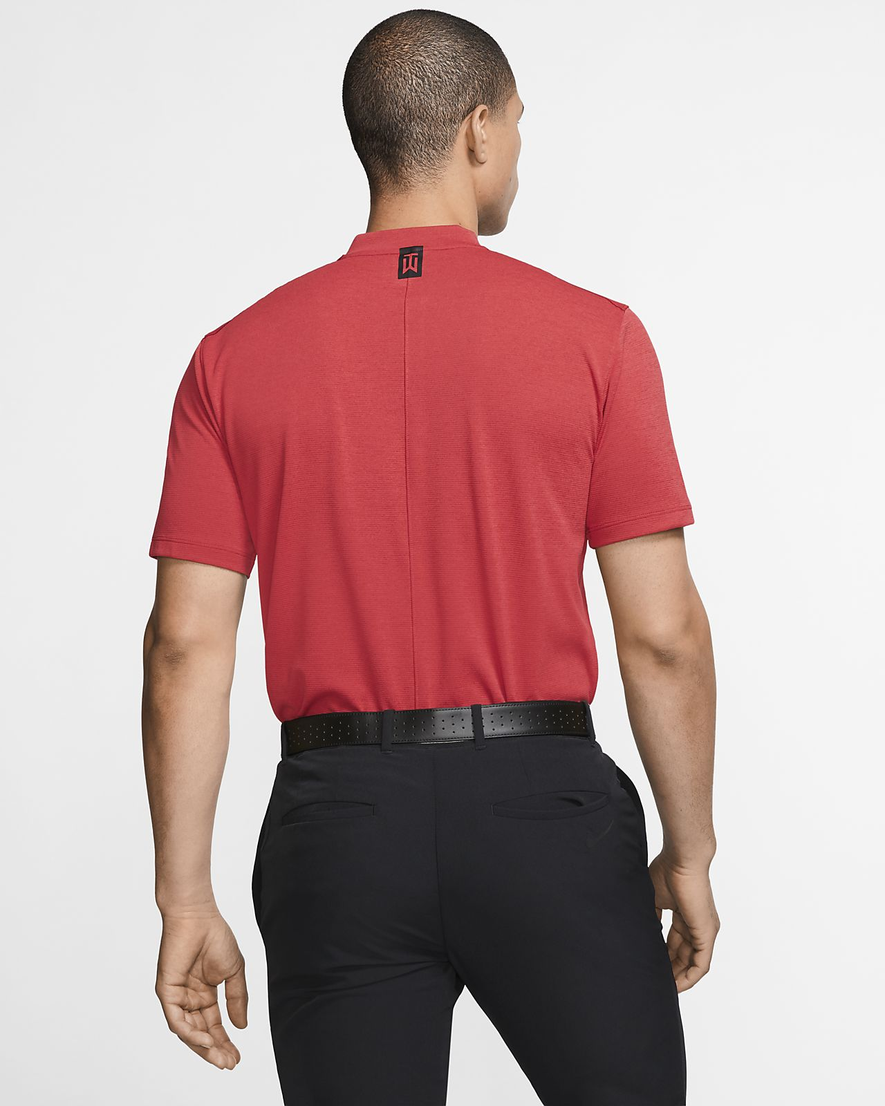608fceb91 Nike AeroReact Tiger Woods Vapor Men's Golf Polo. Nike.com MA