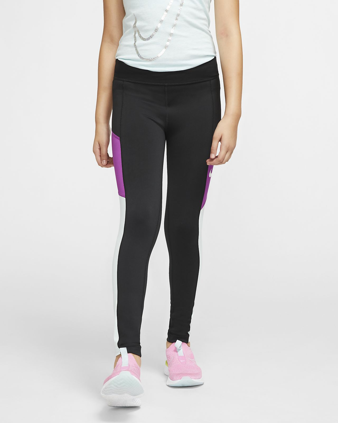 Tights da training Nike Trophy - Ragazza