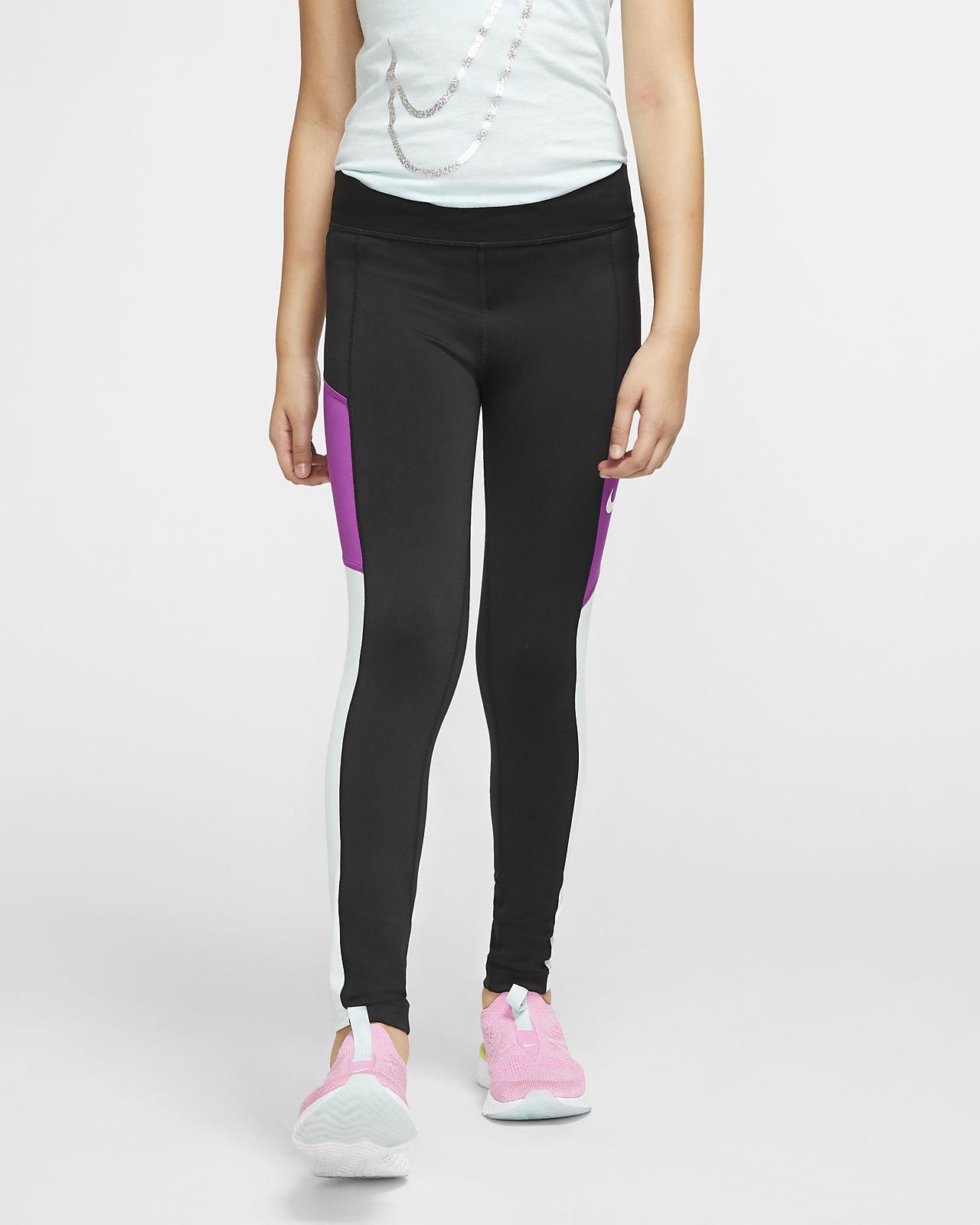 Nike Trophy Older Kids' (Girls') Training Tights