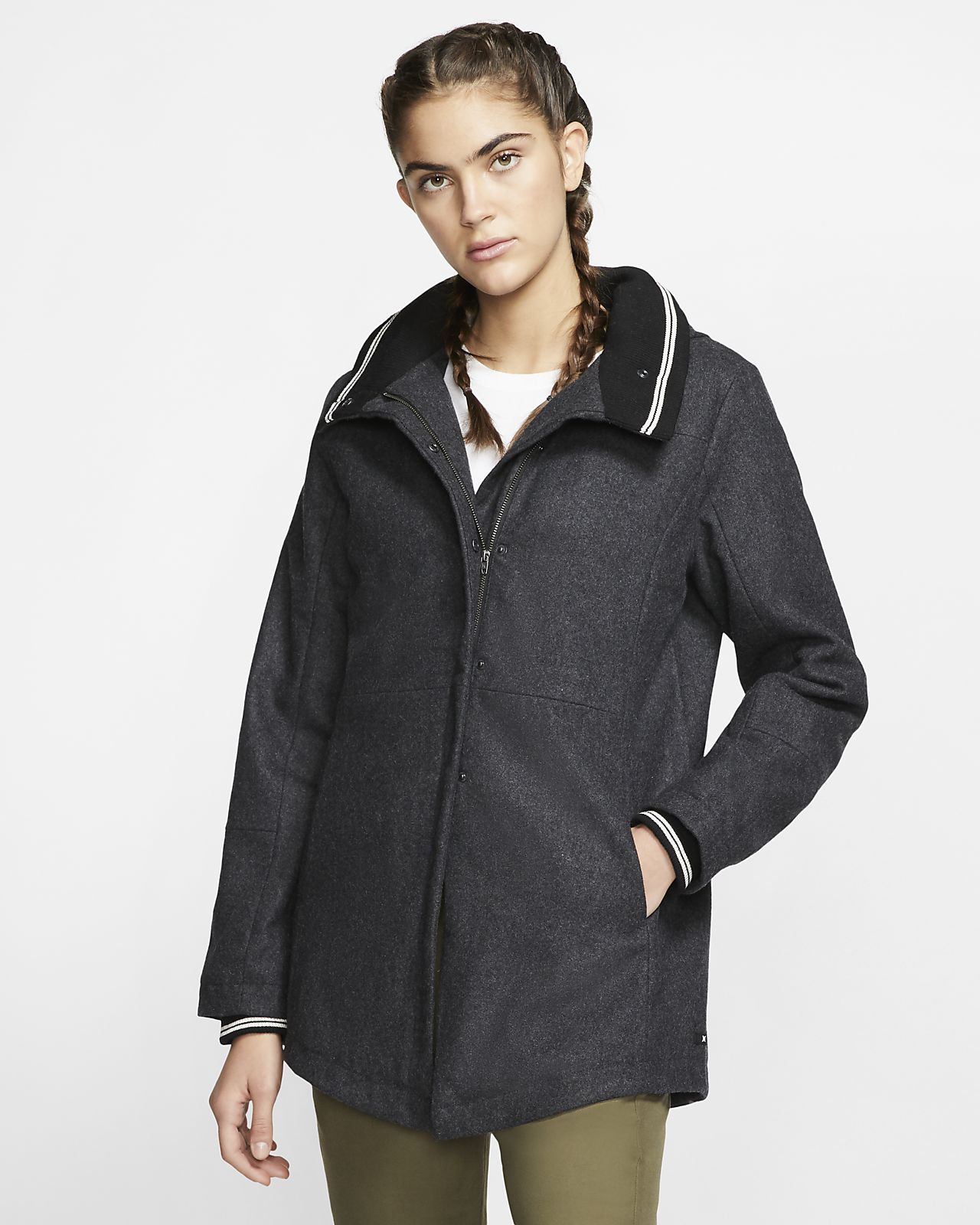 Chamarra para mujer Hurley Winchester Wool