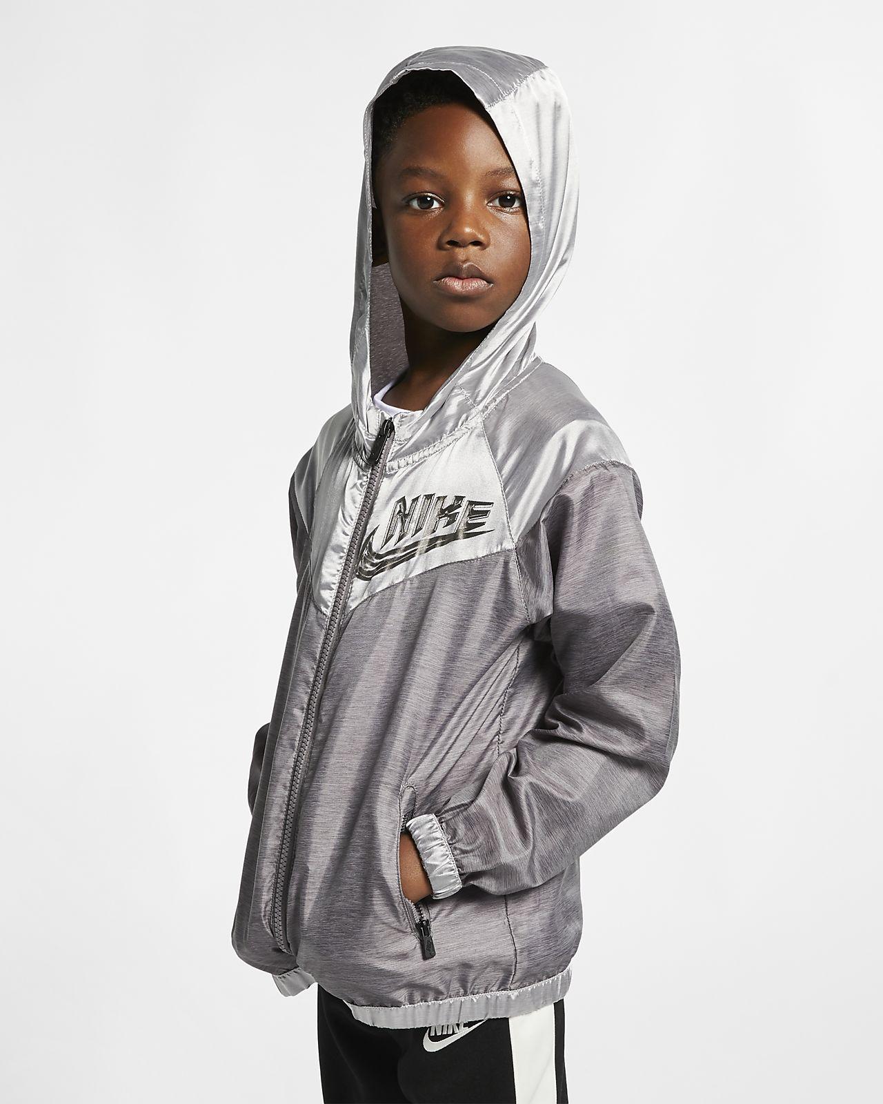 uk availability 77181 f8df1 ... Nike Sportswear Windrunner Little Kids  Jacket