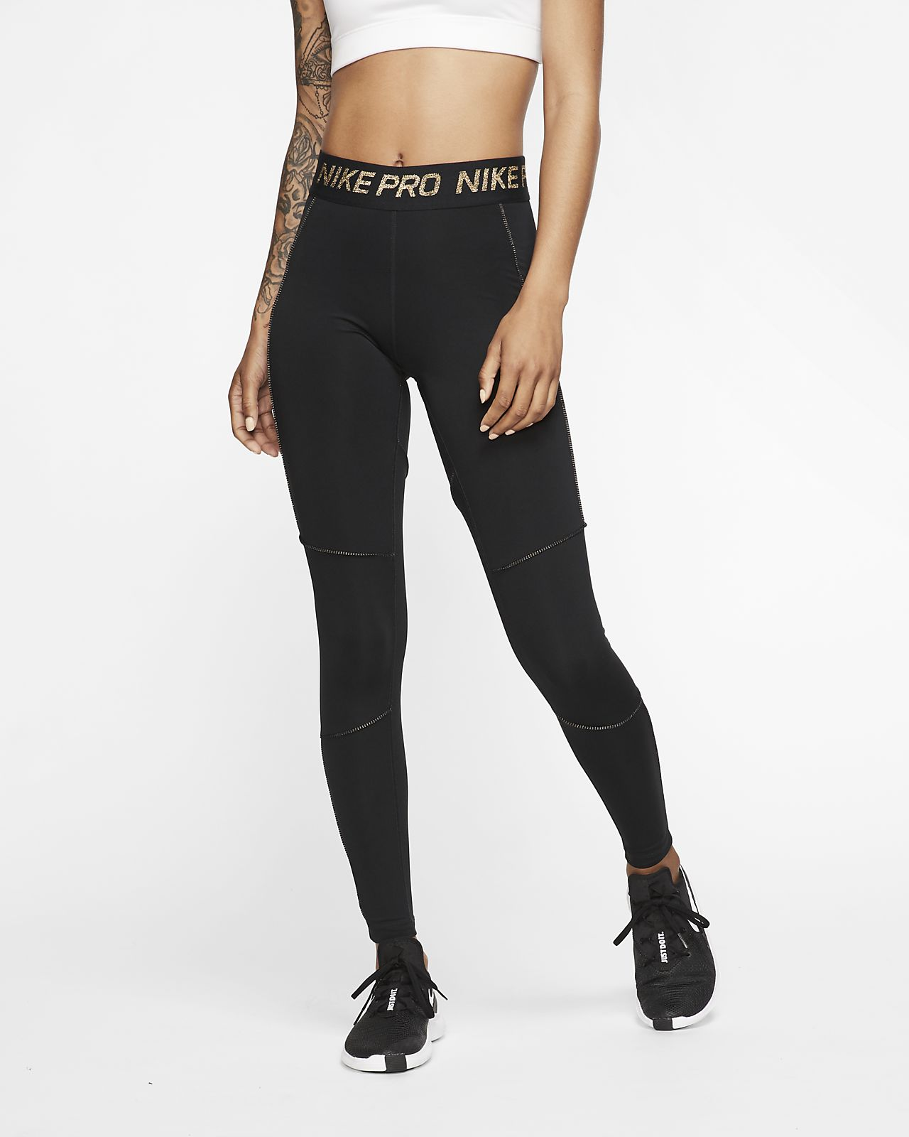Tights a 7/8 Nike Pro - Donna