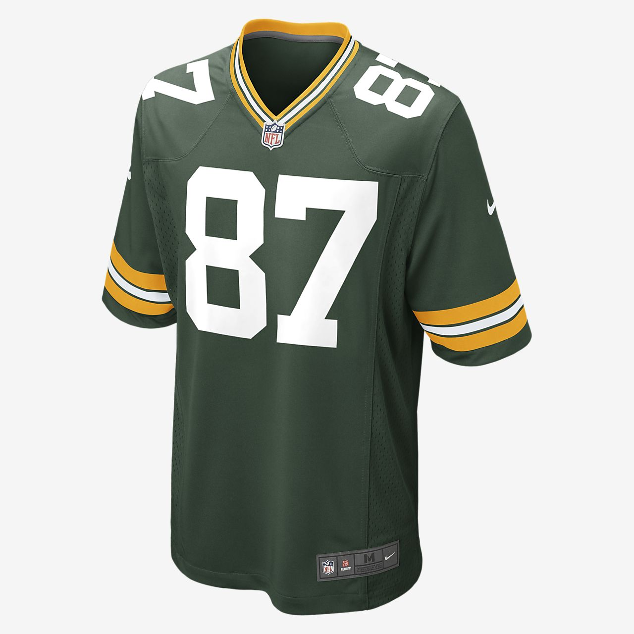NFL Green Bay Packers (Jordy Nelson) Men's American Football Home Game Jersey
