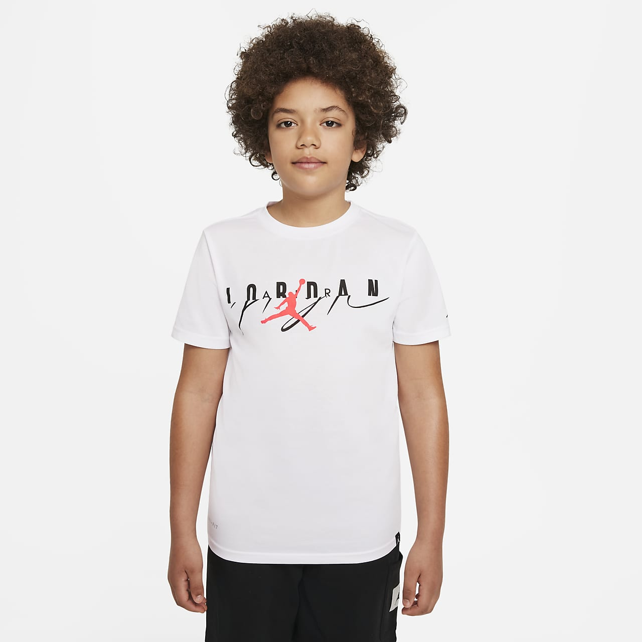 0285f8090 Jordan Air Jumpman Older Kids' (Boys') T-Shirt. Nike.com GB
