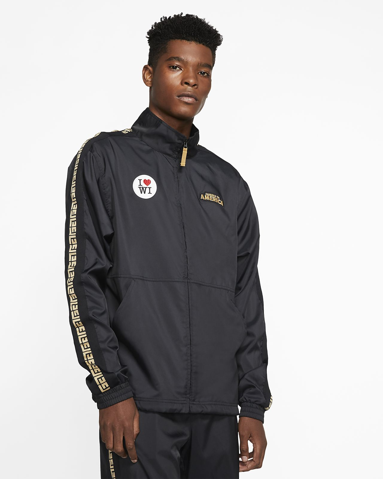 Giannis 'Coming to America' Men's Basketball Track Jacket