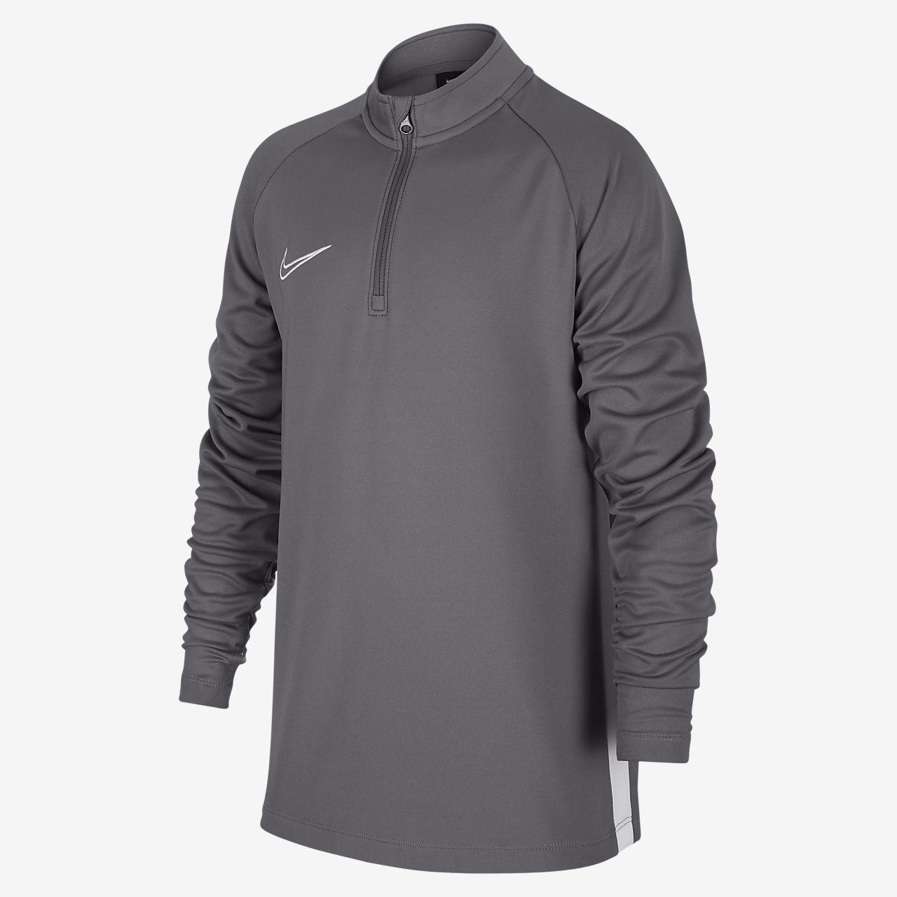 Футболка для футбольного тренинга для школьников Nike Dri-FIT Academy