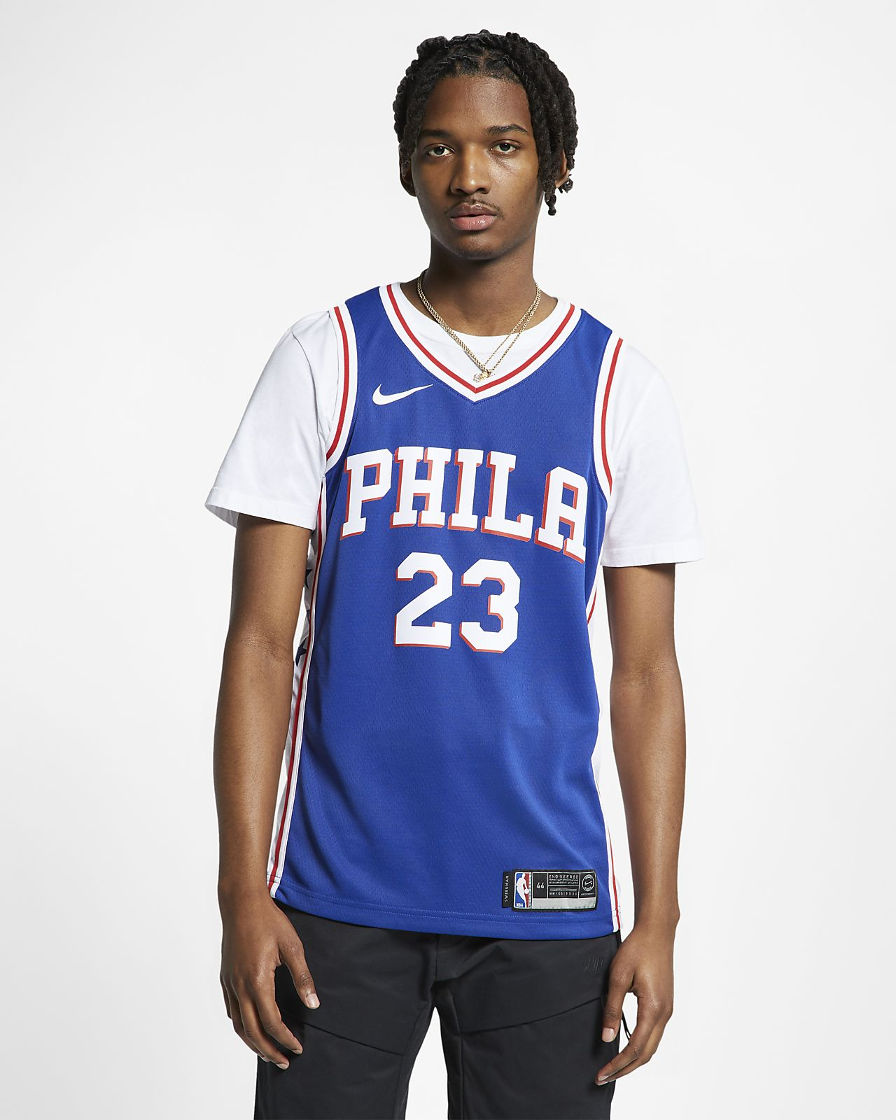 quality design f3556 0ae5f Jimmy Butler Icon Edition Swingman (Philadelphia 76ers) Men's Nike NBA  Connected Jersey