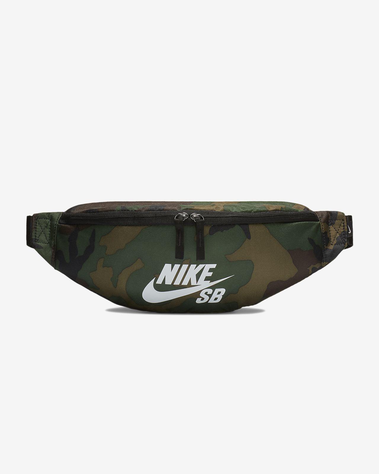 Bolsa de cintura estampada para skateboard Nike SB Heritage (objetos pequenos)