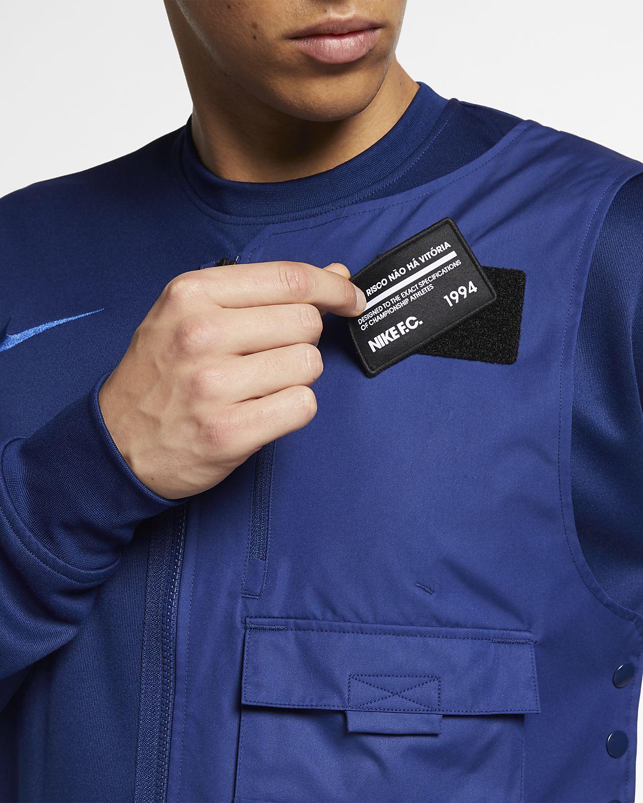 9982c7a4bf90 Low Resolution Ανδρική ποδοσφαιρική μπλούζα Nike F.C. Ανδρική ποδοσφαιρική  μπλούζα Nike F.C.