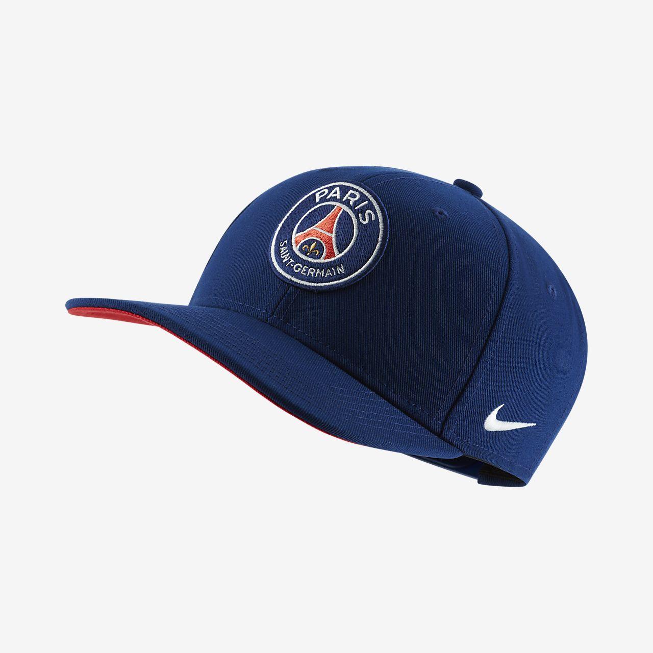 Gorra ajustable para niños talla grande Nike Pro Paris Saint-Germain