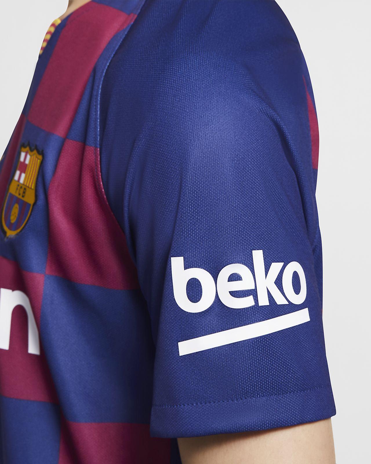 reputable site 348d3 2e8b2 FC Barcelona 2019/20 Stadium Home Soccer Jersey