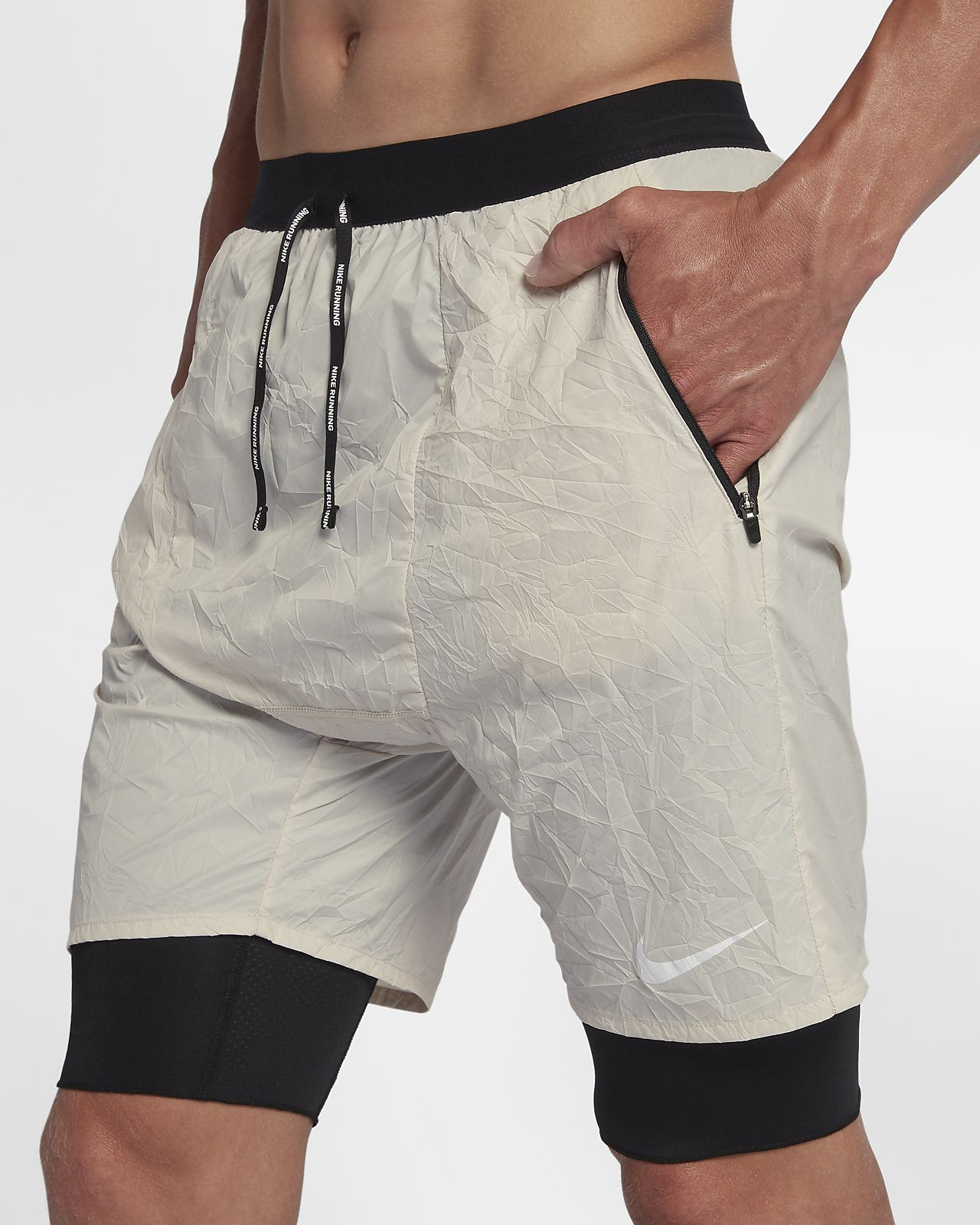 9098a6cff ... Shorts de running 2 en 1 para hombre Nike Flex Run Division Stride  Elevate