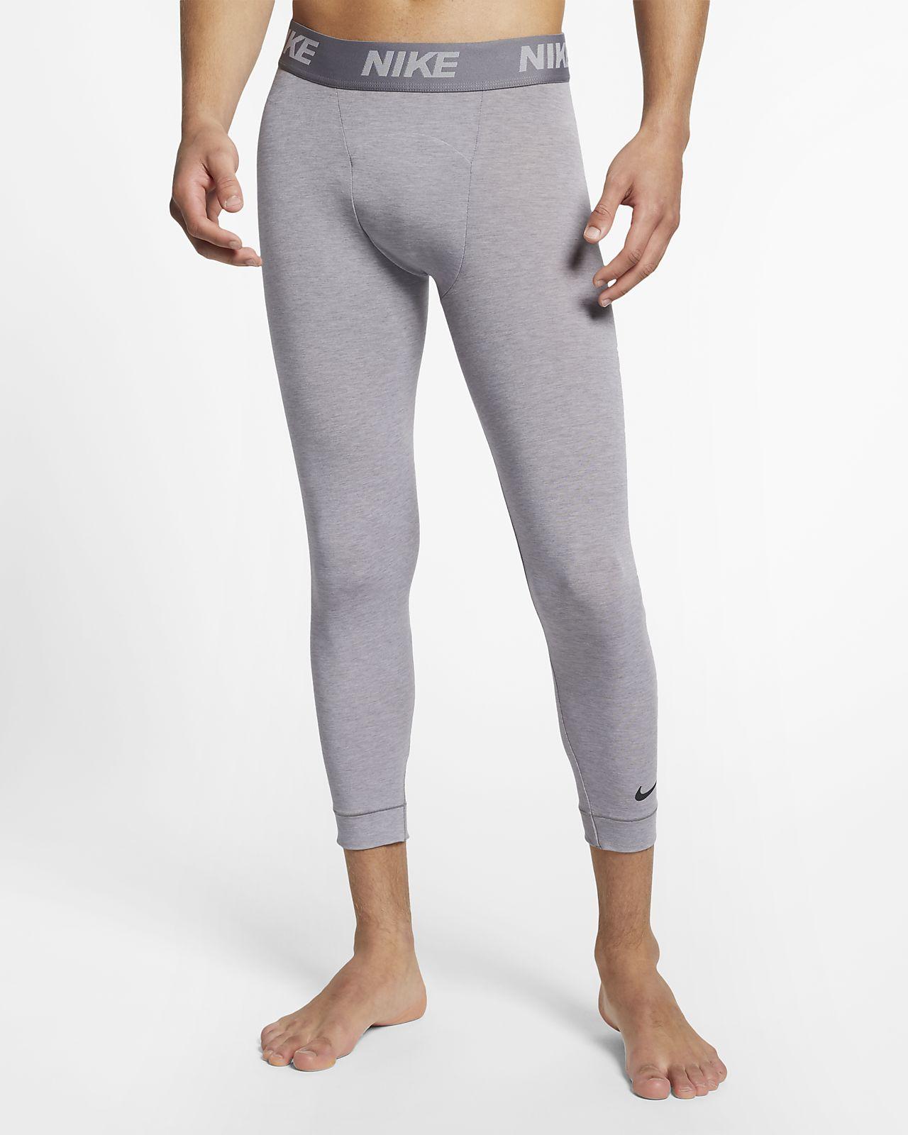 Мужские тайтсы длиной 3/4 для йоги Nike Dri-FIT