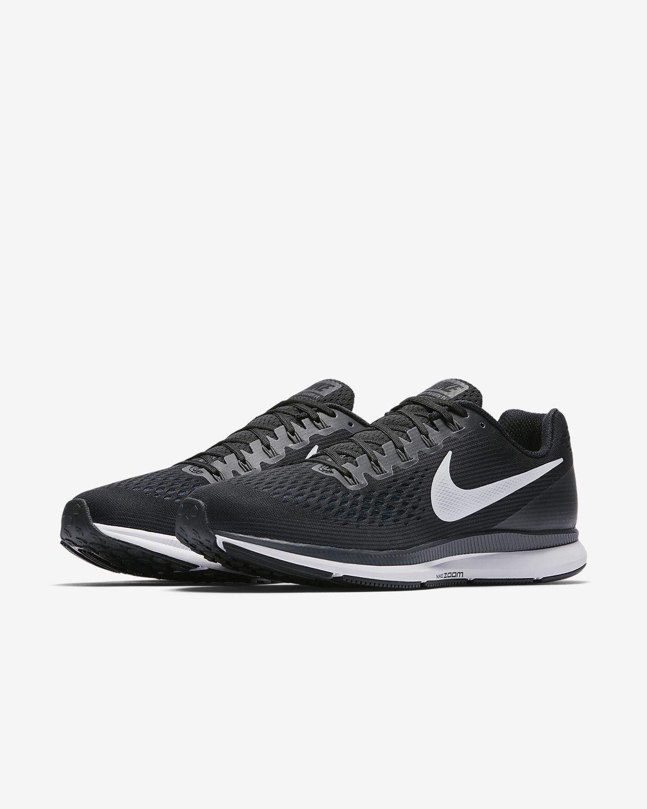 Nike Air Zoom Pegasus 34 Mens Navy Blue White Grey
