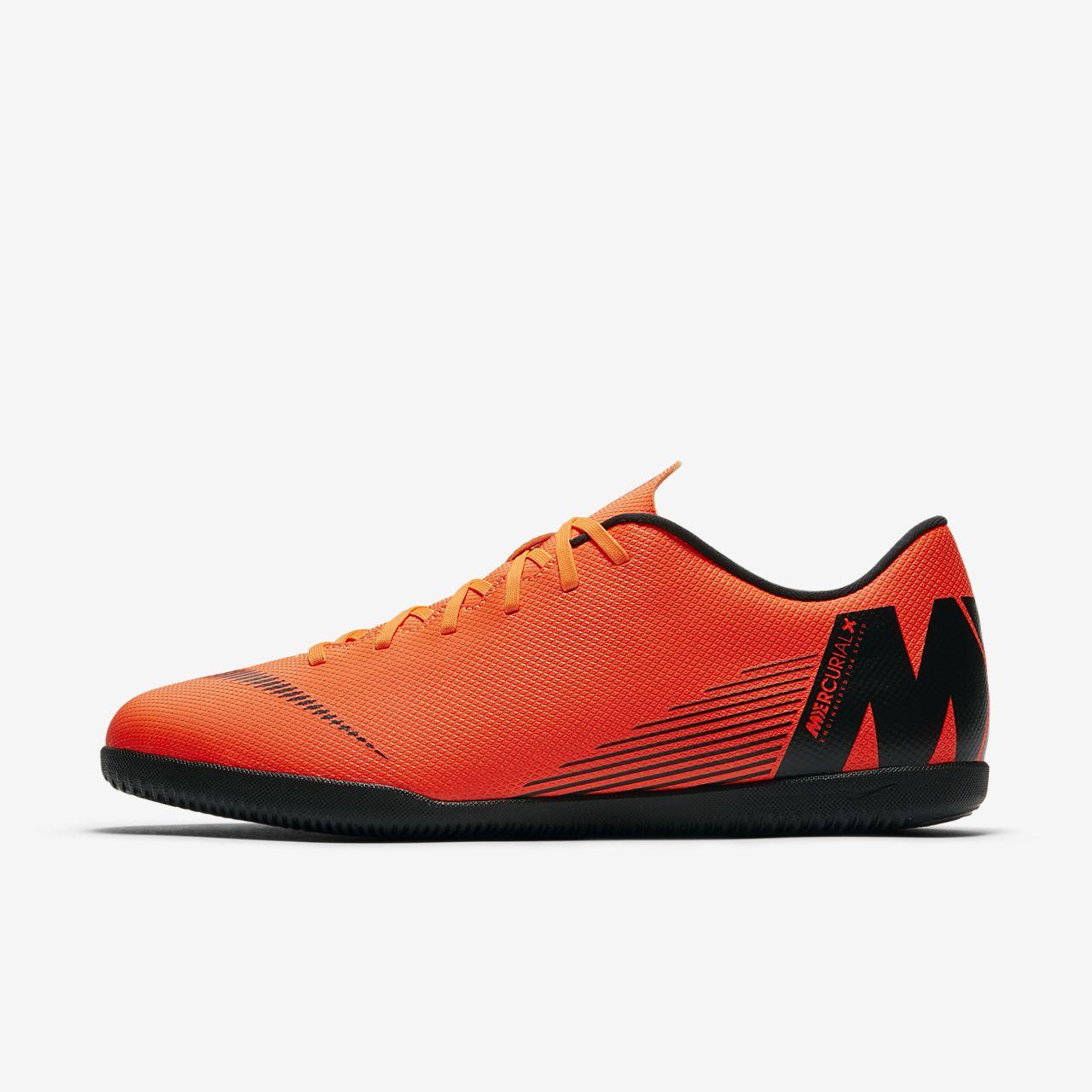 VAPORX 12 CLUB IC - Fußballschuh Halle - black/total orange/white Neueste Online 6B8appJfm