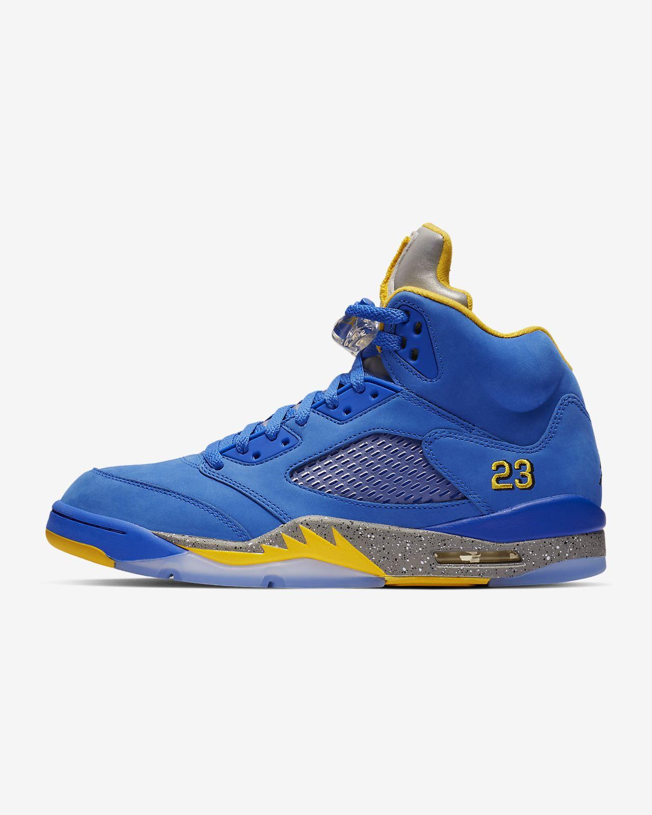 Air Jordan 5 Laney JSP 男子运动鞋