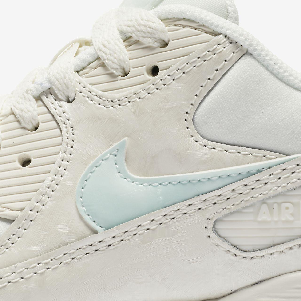... Nike Air Max 90 Mesh (3.5y-7y) Big Kids' Shoe