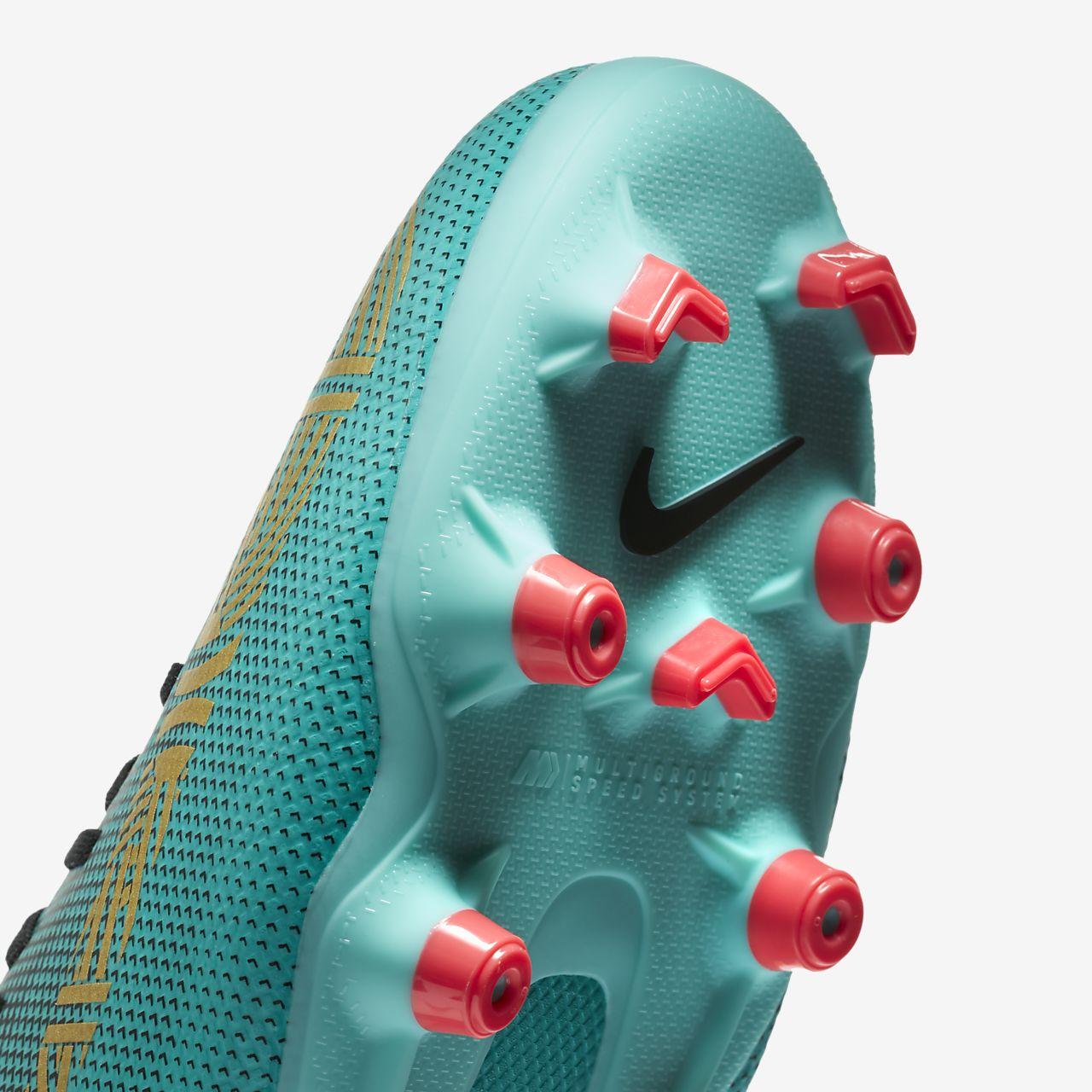 Scarpa da calcio multiterreno Nike Mercurial Superfly VI Academy CR7 MG