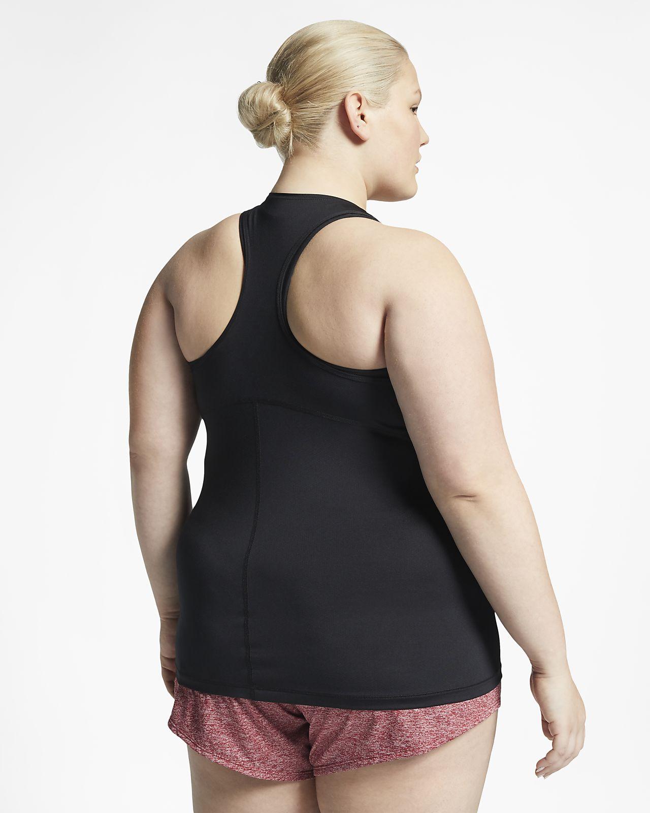 17521573e73 ... Nike Pro-tanktop i heldækkende mesh (plusstørrelse) til kvinder