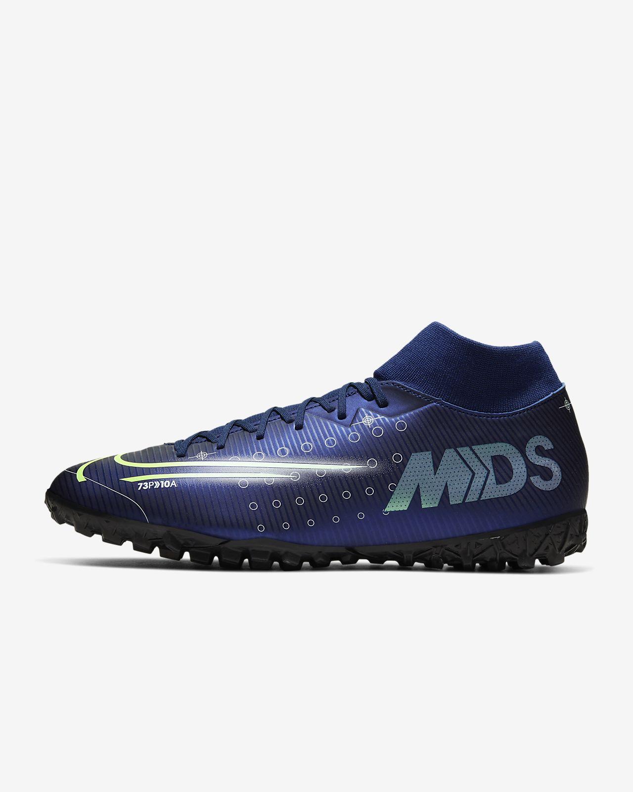 Calzado de fútbol para césped deportivo artificial Nike Mercurial Superfly 7 Academy MDS TF