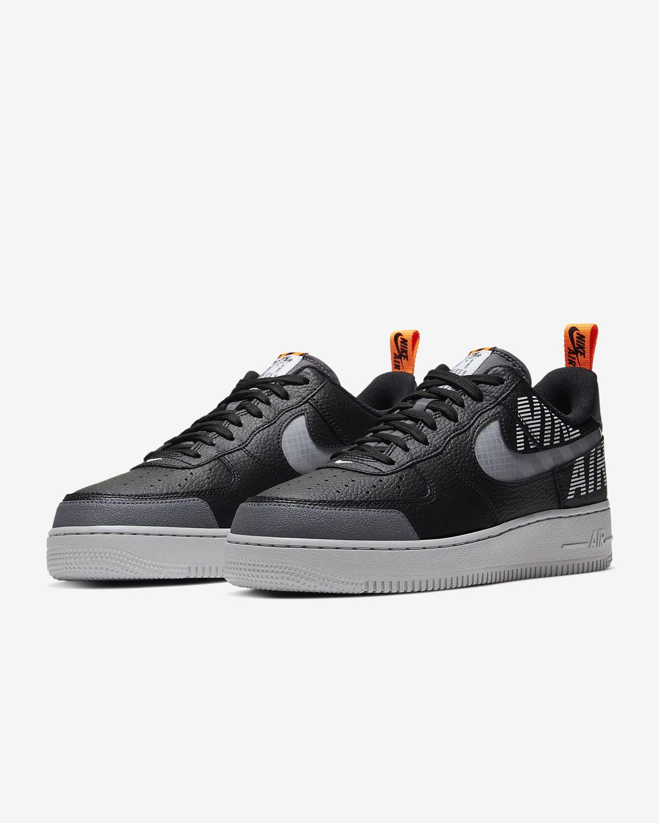 Nike Air Force 1 '07 Lv8 1 Sneaker For Men Grey & Black