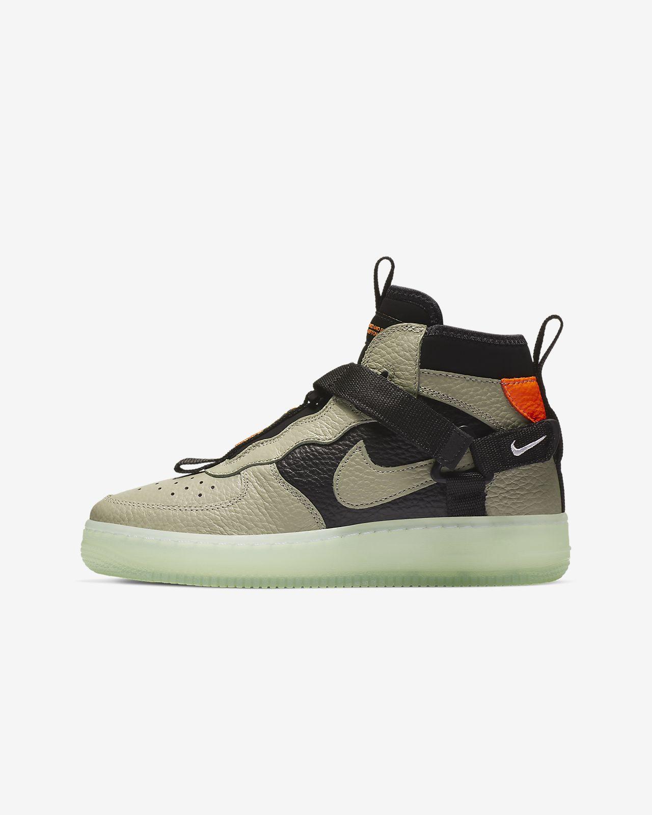 Nike Air Force 1 Utility Mid Big Kids  Shoe. Nike.com 1aae681a1
