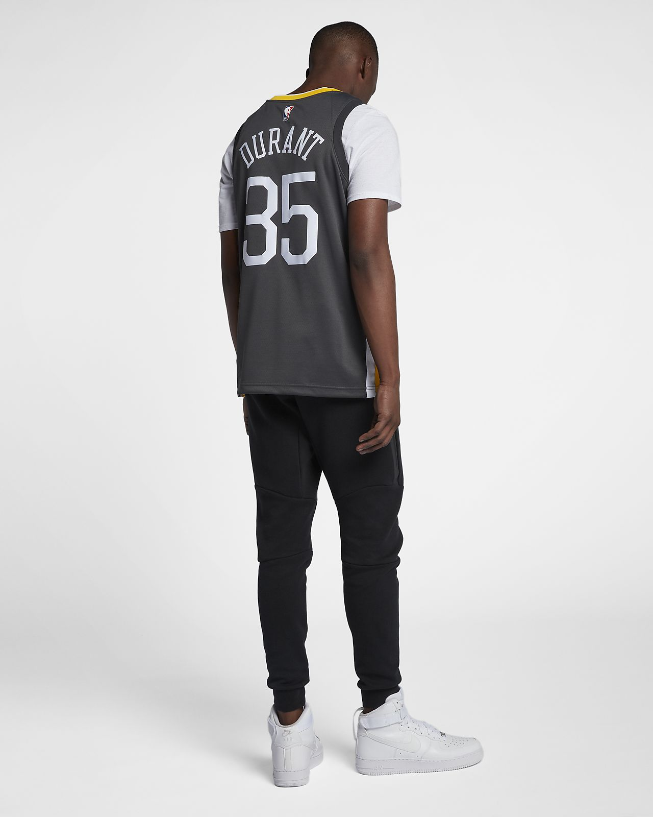 e2a4152b0 ... Kevin Durant Statement Edition Swingman (Golden State Warriors) Men s  Nike NBA Connected Jersey
