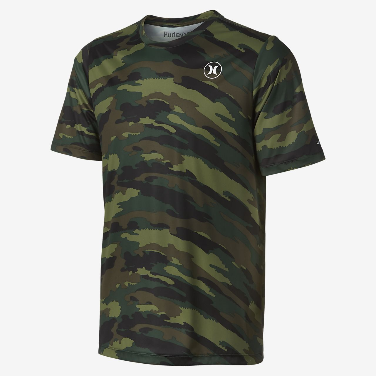 ... Hurley Dri-FIT Icon Camo Men's Surf Shirt