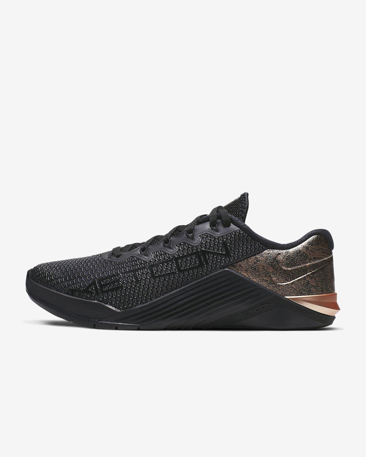 Träningssko Nike Metcon 5 Black x Rose Gold för kvinnor