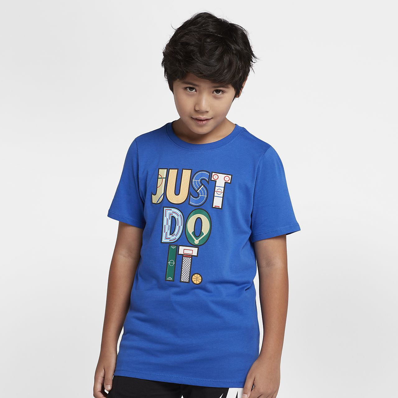7350f3088661e Nike Sportswear Just Do It Older Kids  (Boys ) T-Shirt. Nike.com CA