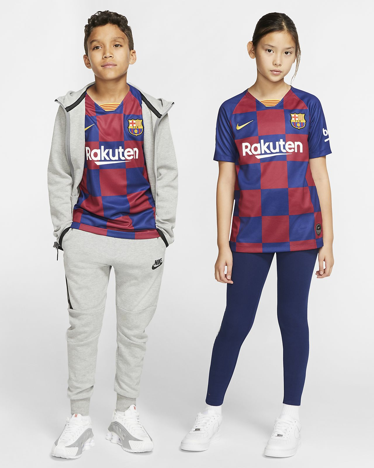 03ffefbc ... Camiseta de fútbol de local para niños talla grande Stadium del FC  Barcelona 2019/20